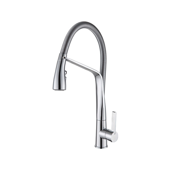 Arcisan AR01270 Kitchen Mixer with 2 Jet Handspray on Metal Hose