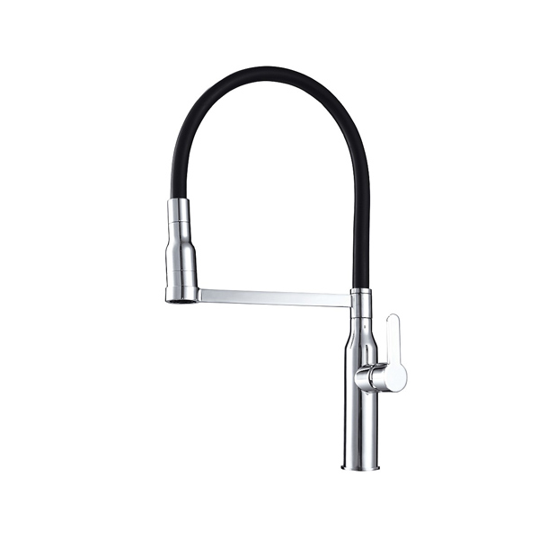Arcisan AR01273 Eneo Kitchen Mixer with 2 jet spray on Black Hose