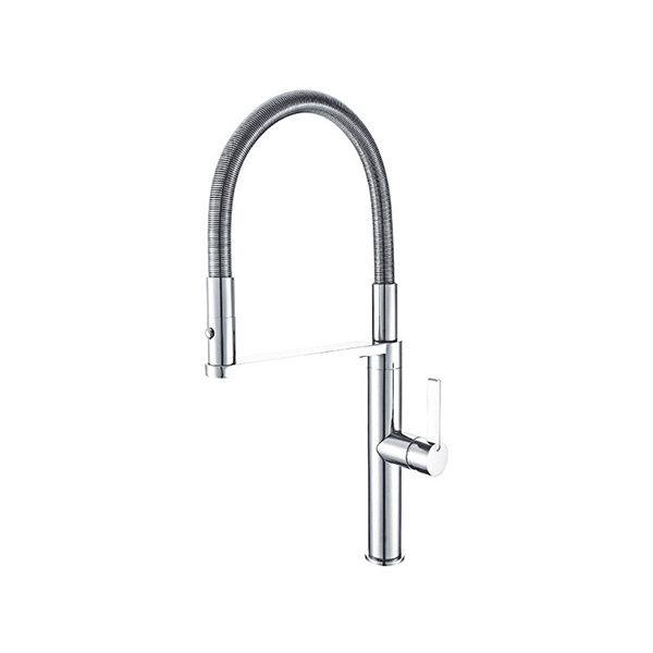 Arcisan EN01260 Kitchen Mixer with 2 jet nozzle on metal spring