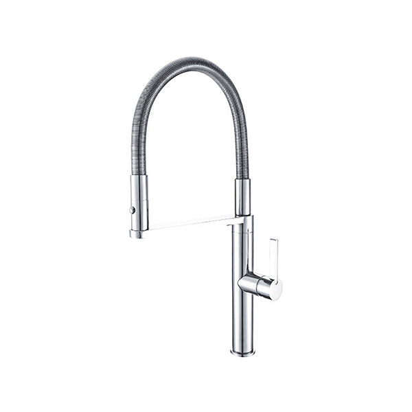 Arcisan EN01260 Kitchen Mixer with 2 jet nozzle on metal spring