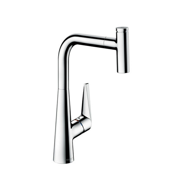 Hansgrohe Talis Select single lever mixer with pullout spray