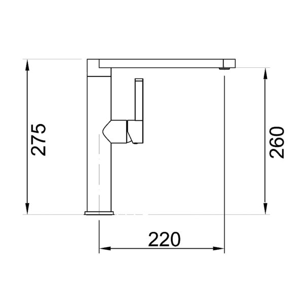 Specifications for Eneo Squareline Kitchen Mixer EN01250