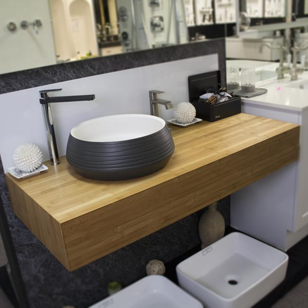 ADP Maxwell 1200 Bamboo Finish and Zues Basin
