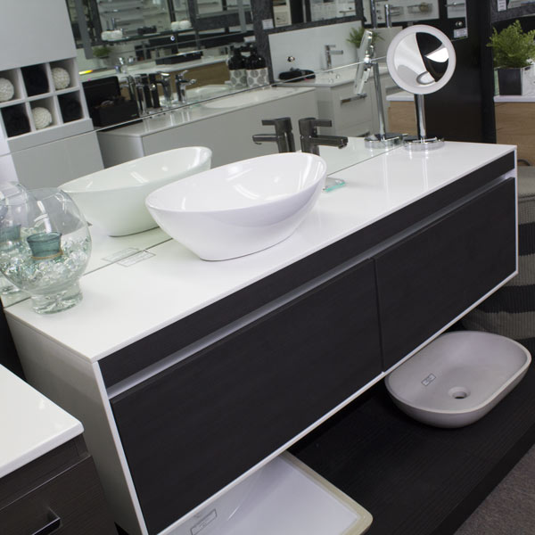ADP Simplicity - Burnished Wood Vanity