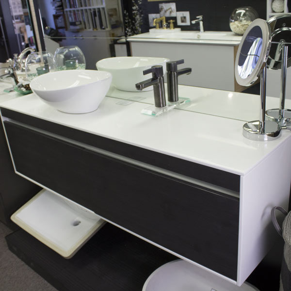 ADP Simplicity - Burnished Wood and White Solid Surface