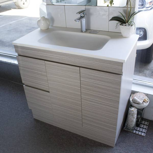 Castano Madrid 900mm Vanity Unit with Solid Surface Top