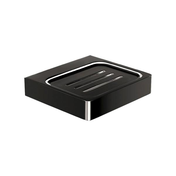 Eneo Matt Black Soap Dish