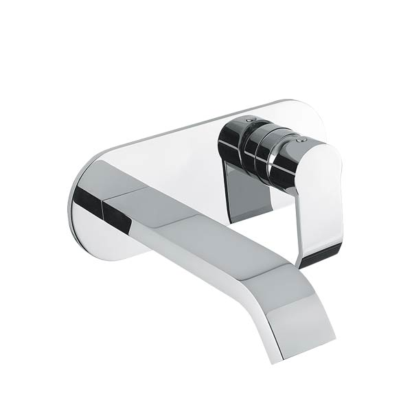 Gareth Ashton Stile Wall Basin Set- Chrome