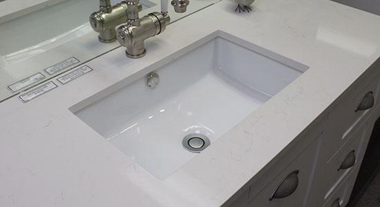 Under mount basin